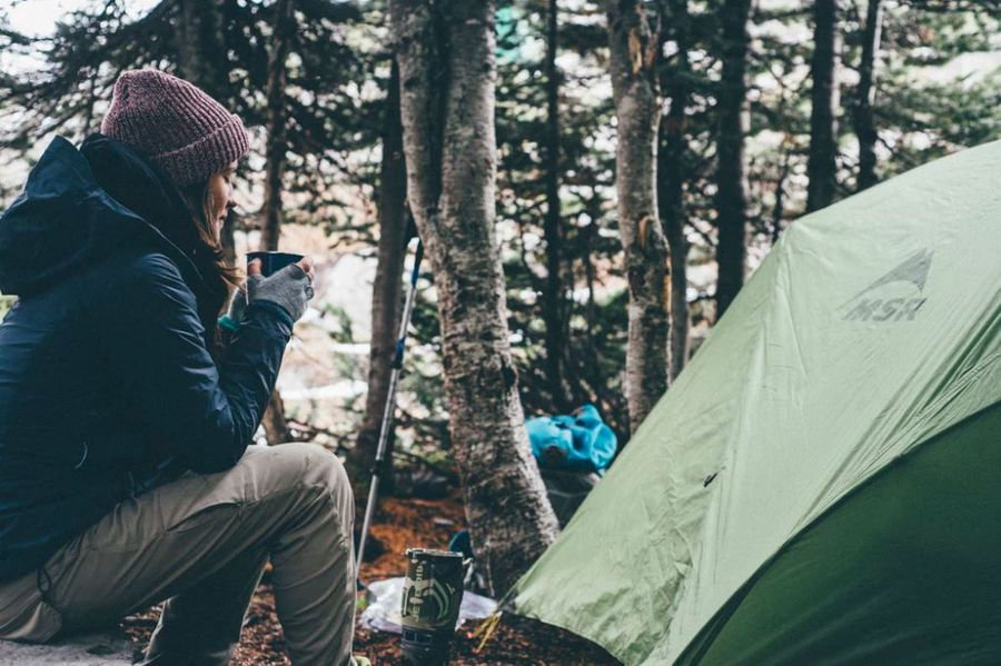 Stay Warm During Winter Camping