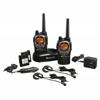 GXT1000VP4, 50 Channel GMRS Two-Way Radio with NOAA Weather Scan