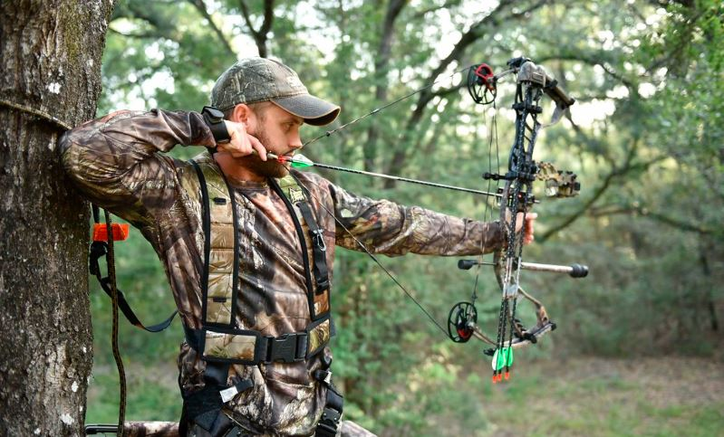 Hunting with Bow Sight